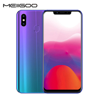 MEIIGOO S9 4G Smartphone 6.18 19:9 Mobile Phone Android 8.1 4GB+32GB Octa Core Face Fingerprint Unlock OTG Cell Phones 5000mAh