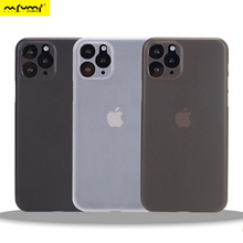 Ultra Thin frosted Case For iphone 11 Pro MAX X Xr Xs Max Matte Plastic Back Cover Case For iphone 11 Pro Max Fashion Case 0.3mm case for iphone 11 pro max soft tpu case ultra thin bumper case for iphone 11 pro case cover frosted shockproof covers