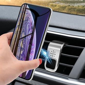 1 Pc Car Model Aromatherapy Decoration Phone Holder Automobile Interior Air Outlet Mount Magnetic Fragrance Gifts Phone Holder image