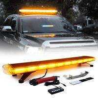 Car Beacon Lights Bar 88 Led 47 Car Truck Police Strobe Warning Light Roof Top Flash Emergency Light Flashing Lightbar Lamp