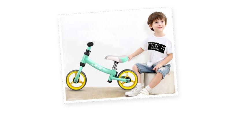 H38e9f3d8802e4503900cebfcf0eb24b5O High Carbon Children Balance Bike Walker Kids Ride on Toy Gift for 1.5-3Years Children for Learning Walk Scooter 8inch Kids Bike