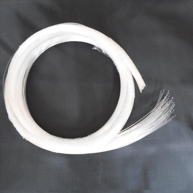Лидер продаж 1 ~ 5 метров 0,5 мм конец свечение ПММА волоконно-оптический кабель для DIY светодиодный звезда потолочный светильник Бесплатная д...