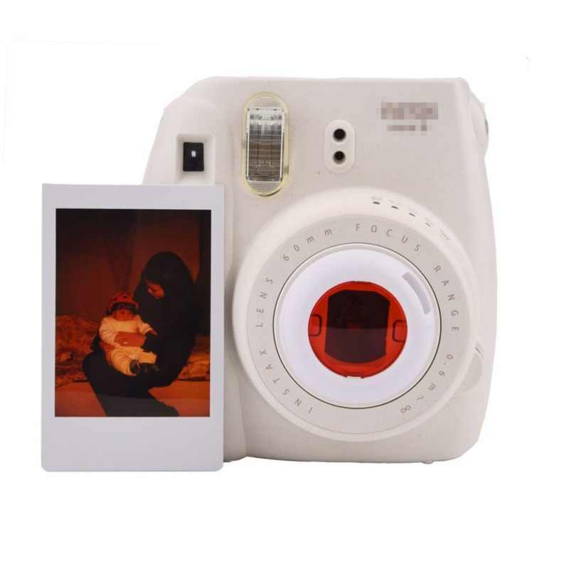 ل فوجي فيلم Instax 4 قطعة/6 قطعة الألوان الكاميرا عدسة مجموعة فلاتر تأثير خاص تصفية