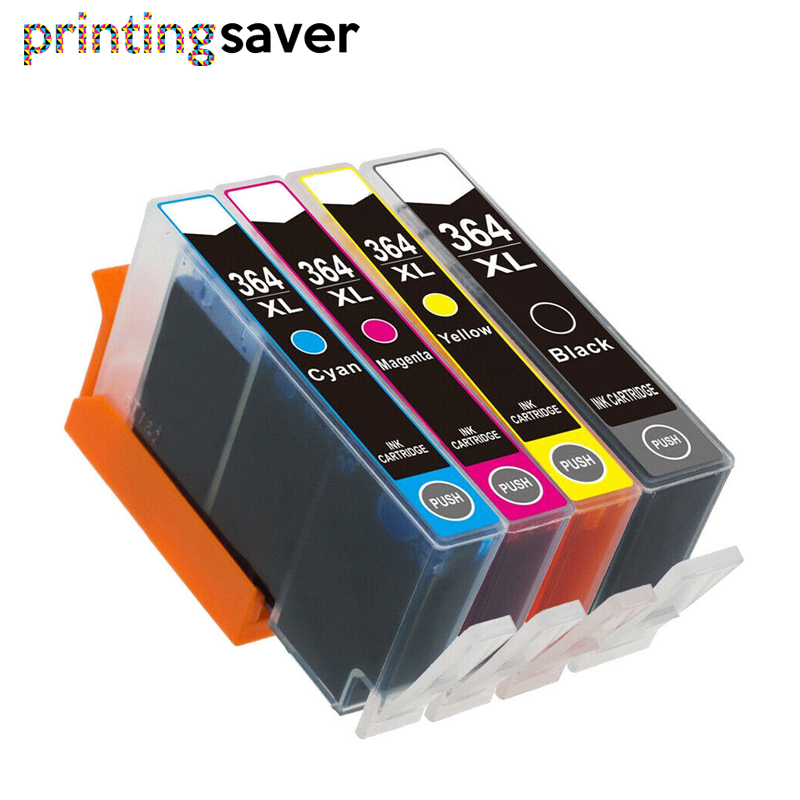 4pcs 364xl Compatible Ink Cartridge Replacement For HP 364 XL For Deskjet 3070A 7510 Photosmart 5510 5515 5520 7520 B109a 6510