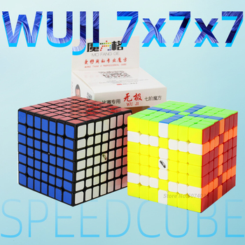 Qiyi Mofangge Wuji 7x7 Cube Game Speed Puzzle 69mm 7x7 Professional Competition Cubes Toys For WCA Championsh 2017 new