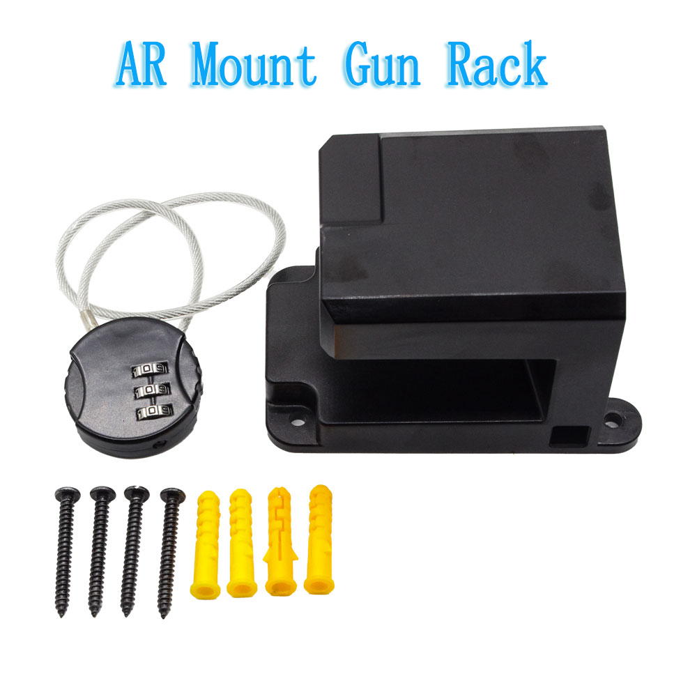 Magorui AR Mount Gun Rack Rifle Display storage rack, Shotgun Hook, Gun Safety wall Storage, Gun Room Installation