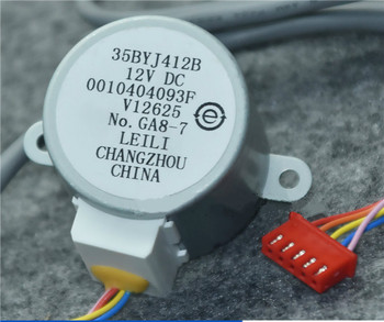 35BYJ412B new suitable for Haier air conditioner vertical cabinet swing leaf sweep motor 12v step synchronous wind guide motor