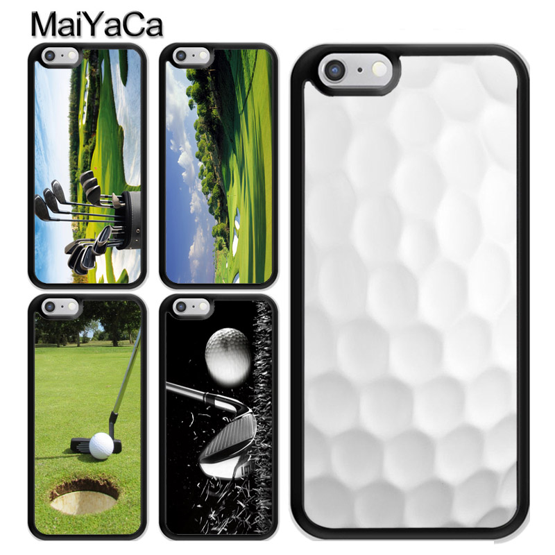 Sport Golf Ball Course Field Case Coque For Iphone 11 Pro Max X Xr Xs Max Se 2020 6s 7 8 Plus 5s Cover Coque Aliexpress