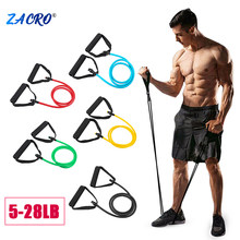 Zacro Yoga Pull Rope Resistance Bands Fitness Elastic Bands Fitness Equipment Rubber expander Workout Home Gym Exercise Training