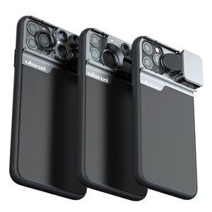 Image 4 - Ulanzi u lens 5 w 1 zestaw obiektywów telefonicznych 20X Super makro obiektyw CPL Fisheye teleobiektyw do iPhone 11/11 Pro/11 Pro Max Pixel 4 XL