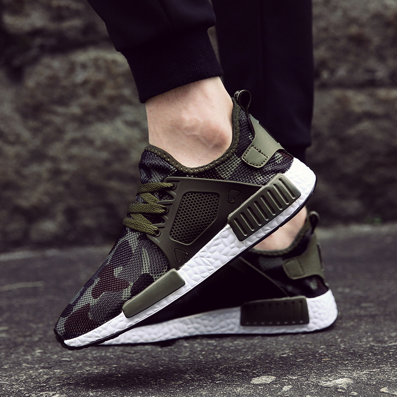 Damyuan Running Shoes Breathable Comfortable Man Sneakers Casual Wear-resisting Non-slip Height Increasing Men Sport Shoes