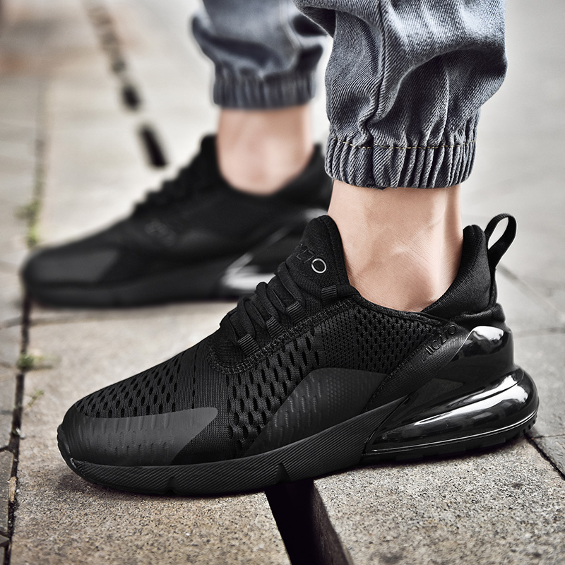 Light Weight Style Men Running Shoes Simple Patchwork Mesh Trainer Shoes 270 TOP Quality Track Fitness Male Sneakers Summerr