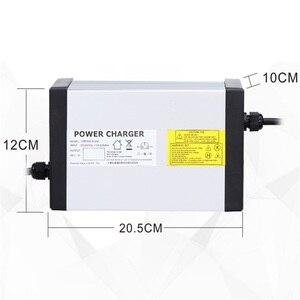 Image 4 - YZPOWER 84V 6A 7A 8A 9A 10A akumulator litowo jonowy ładowarki ładowarka akumulatorów litowych do 72V 20S akumulator litowo jonowy Highpower inteligentne szybkie ładowanie