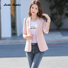1pcs Women plus size Blazers coats 2020 Spring Cot