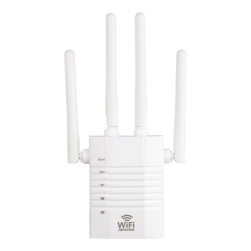 1200Mbps 5Ghz WiFi Repeater Wireless Network Extender Wi-Fi Amplifier 802.11N Long Range Wi Fi Signal Booster 5G