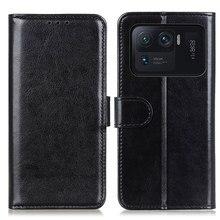 Jolie coque portefeuille pour Xiaomi, étui de protection Ultra souple, support de poche, Mi 11 Ultra