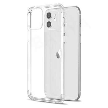 Luxury Shockproof Silicone Phone Case For iPhone X XR XS MAX 11 Pro 6 6s 7 8 Plus SE 2020 Transparent Protection Back Cover image