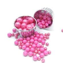 15 г съедобные розовые бусины, жемчуг, сахарный шар, помадка, выпечка торта, сделай сам, посыпает сахарными конфетами, свадебное украшение для...