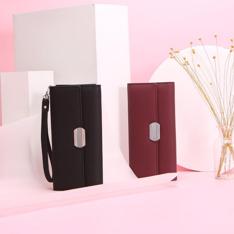 WEICHEN Women's Wallet-long  Large-capacity  Large-capacity Handbag Fashionable Mobile Phone Wallet  Women's Wallet