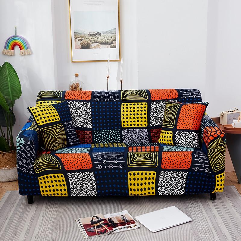 Capas de sofá protetor de sofá floral para sala de estar elástico trecho slipcover secional canto sofá cobre 1/2/3/4-seater