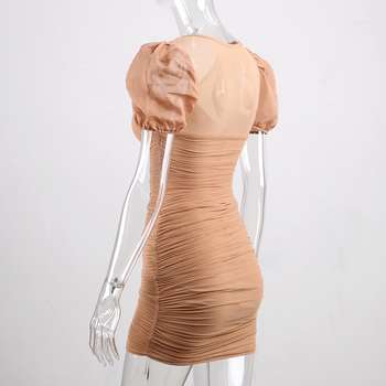 Forefair Puff Sleeve Dress 5