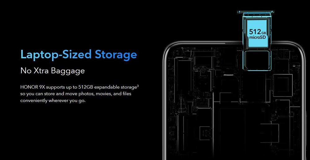 Global Version Honor 9X Smartphone Global Rom Huawei Kirin 710F Not 9Pro 48MP Triples Cam 6.59'' Mobile Phone Android 9 4000mAh (28)