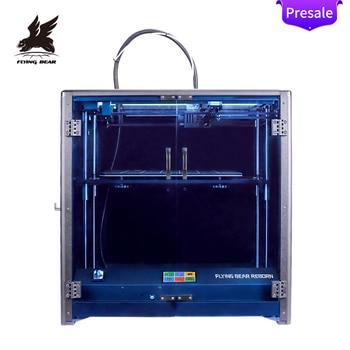 Flyingbear-kit de impresora 3d Reborn, marco de aluminio completo, alta precisión, tamaño...