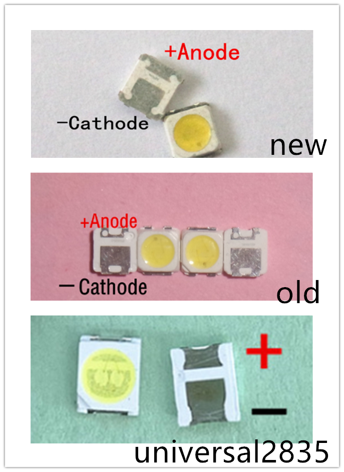 100 Pcs Samsung LED Lampu Latar TT321A 1.5W 3V 3228 2828 Keren Putih LCD Lampu Latar untuk TV Aplikasi TV SPBWH1320S1EVC1BIB