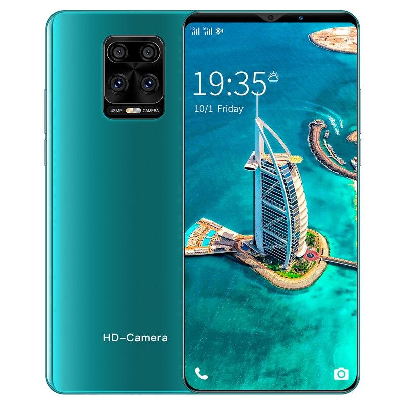 Новый мобильный телефон Note 9 Plus 6,1 дюймов 4800 Батарея 8 + 13MP Камера глобальная версия смартфонов 6G 128 ГБ разблокированный телефон на ОС Android
