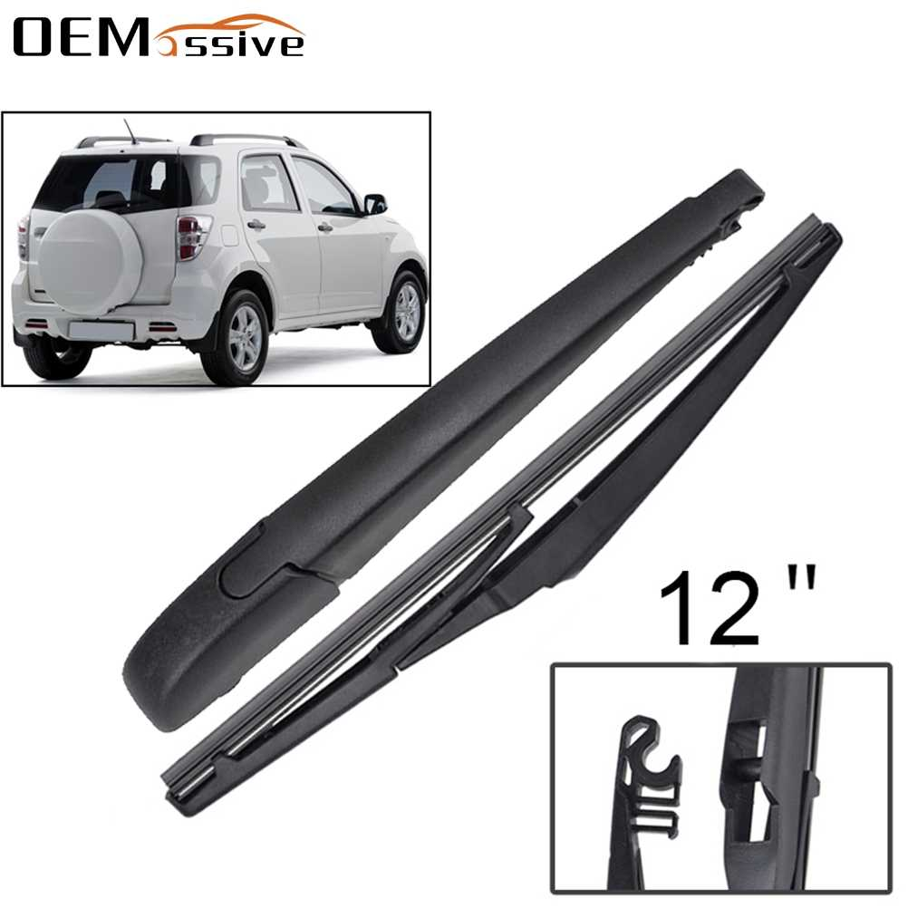 "Daihatsu Terios 2006-on standard windscreen wiper blades 21/"" 18/"" alca SPECIAL"