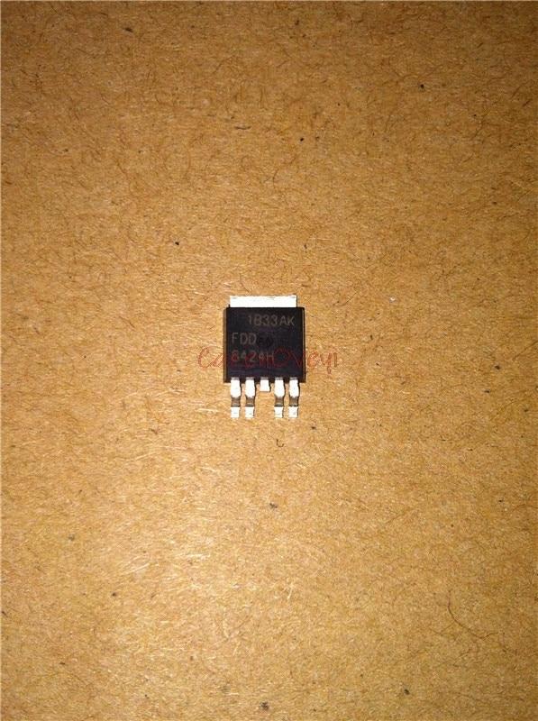 10pcs/lot FDD8424H FDD8424 DD8424 D8424 8424  8424 TO252-4L In Stock