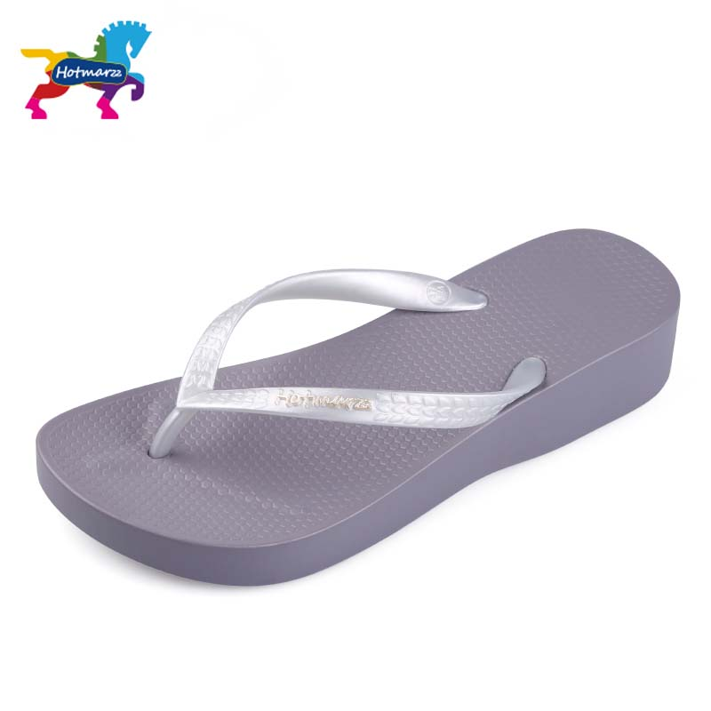 Hotmarzz Women Wedge Slippers Fashion