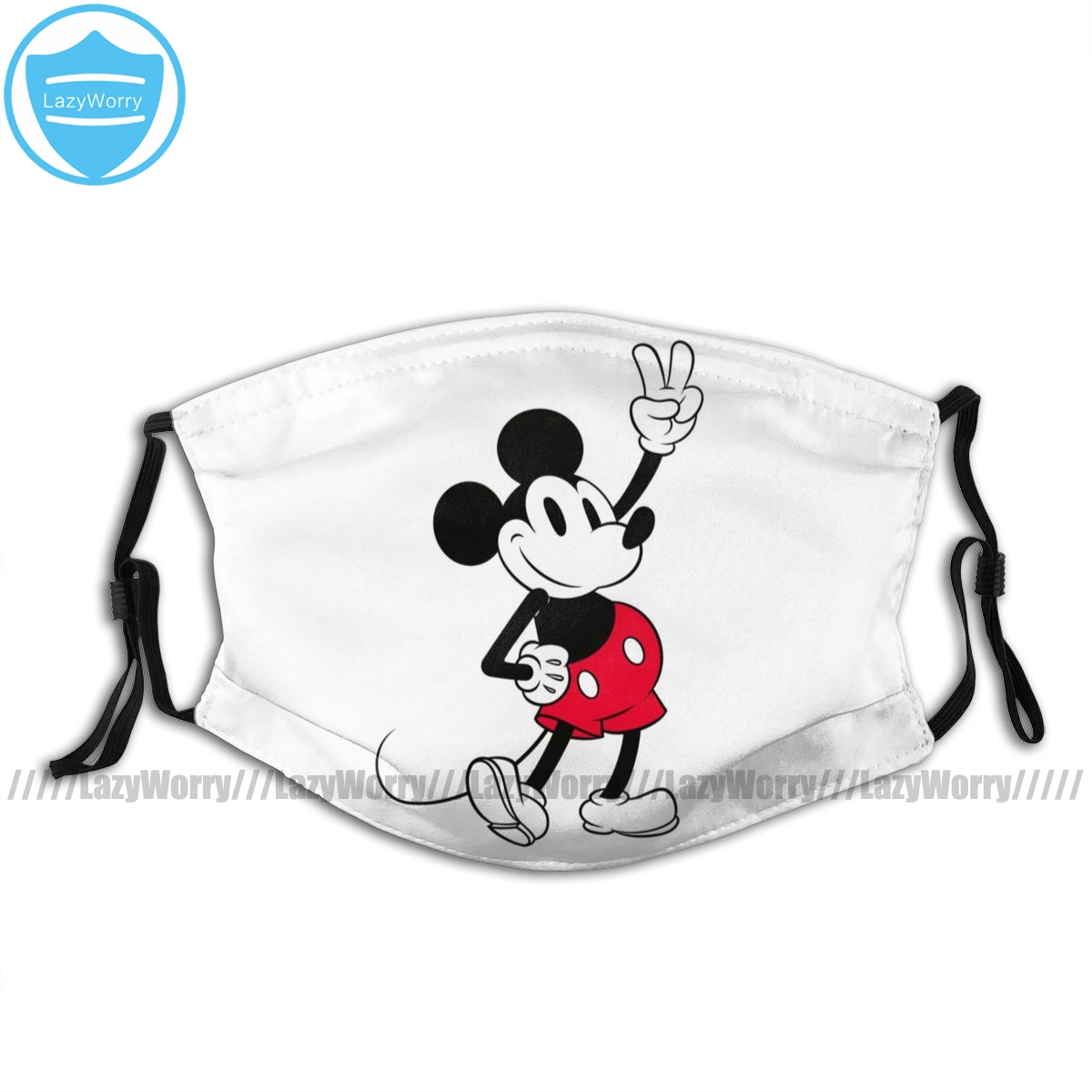 Mickey Mouse Mouth Face Mask Classic Mickey Mouse Cool Beyond Year Facial Mask Lovely Fashion Mask