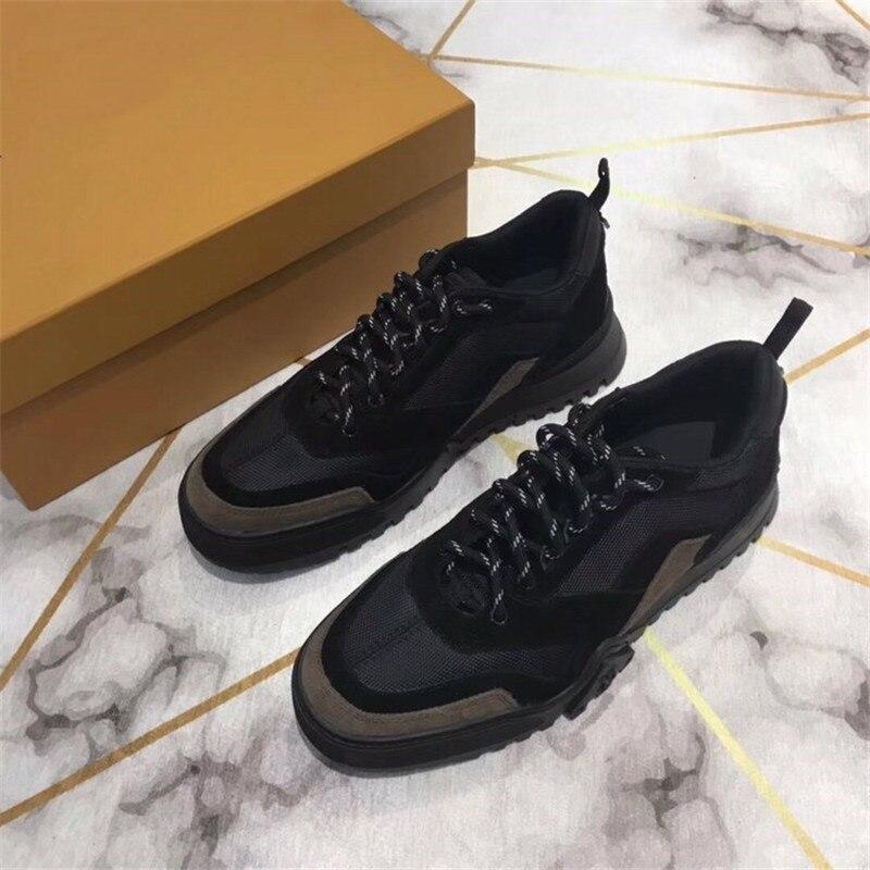 Designer Luxus Socke Schuhe Atmungsaktiv casual Schuhe Für Männer Neue joint Leder Trainer Marke Mode Turnschuhe 39 45 - 4
