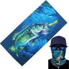 Головная повязка для рыбалки солнцезащитный крем для бега быстросохнущая Спортивная маска для шеи Gaiter многофункциональная хиджаб-труба