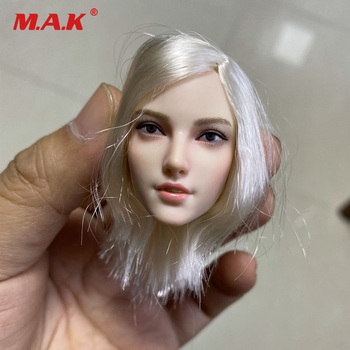 In Stock 1/6 Scale Feamle Head Sculpt Sexy Female Hunter Head Carving For 12