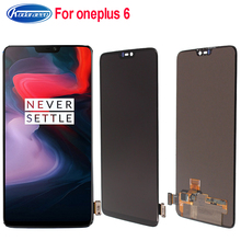 6.28Inch For Oneplus 6 A6000 A6003 Optic AMOLED LCD Display Touch Screen Digitizer Panel Assembly