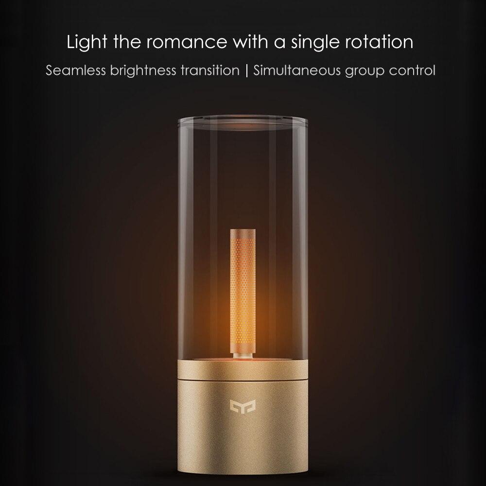 Xiaomi Yeelight LED atmosphère lumière nuit lune lampe pris en charge Intelligent téléphone portable BT APP contrôle pour café boutique salle