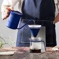 Hohe qualität minimalistischen v60 hand brauen kaffee set Kaffee topf maker Filter Coffeware Sets 12 cup pourover wasserkocher server tropf stehen tasse-in Kaffeepott aus Heim und Garten bei