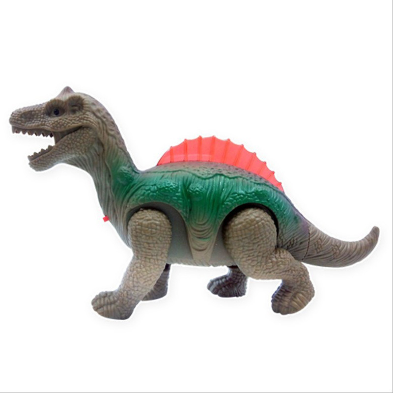 Electric Universal Dinosaur Zhu Luo Ji Model Will Walk Night Market Creative Novelty CHILDREN'S Electric Toys