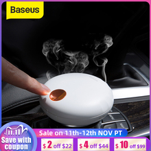 Baseus充電式車の空気清浄自然香水のにおい香味用アロマオートインテリアアクセサリー