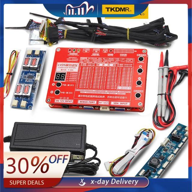 TKDMR yeni Panel Test aracı LED LCD ekran Tester için TV/bilgisayar/Laptop tamir invertör dahili 55 çeşit programı ücretsiz kargo
