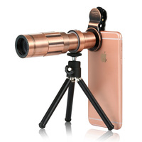 New Style 20 Times Mobile Phone Telephoto Lens Mobile Phone Extraposition Telephoto Lens High definition Zoom