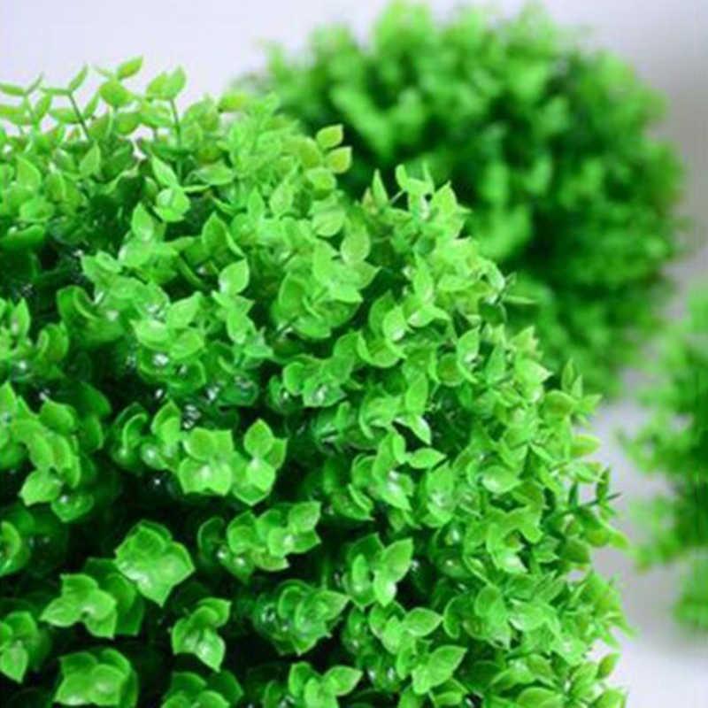 Имитация травяного шарика реалистичный топиарный сад газон растение гирлянда для развешивания Декор