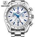 Sekaro дизайнерские Роскошные Брендовые мужские часы, автоматические часы из нержавеющей стали, водонепроницаемые деловые спортивные механи...