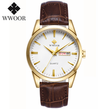 WWOOR Watch Men Top Brand Mens Classic Luxury watch