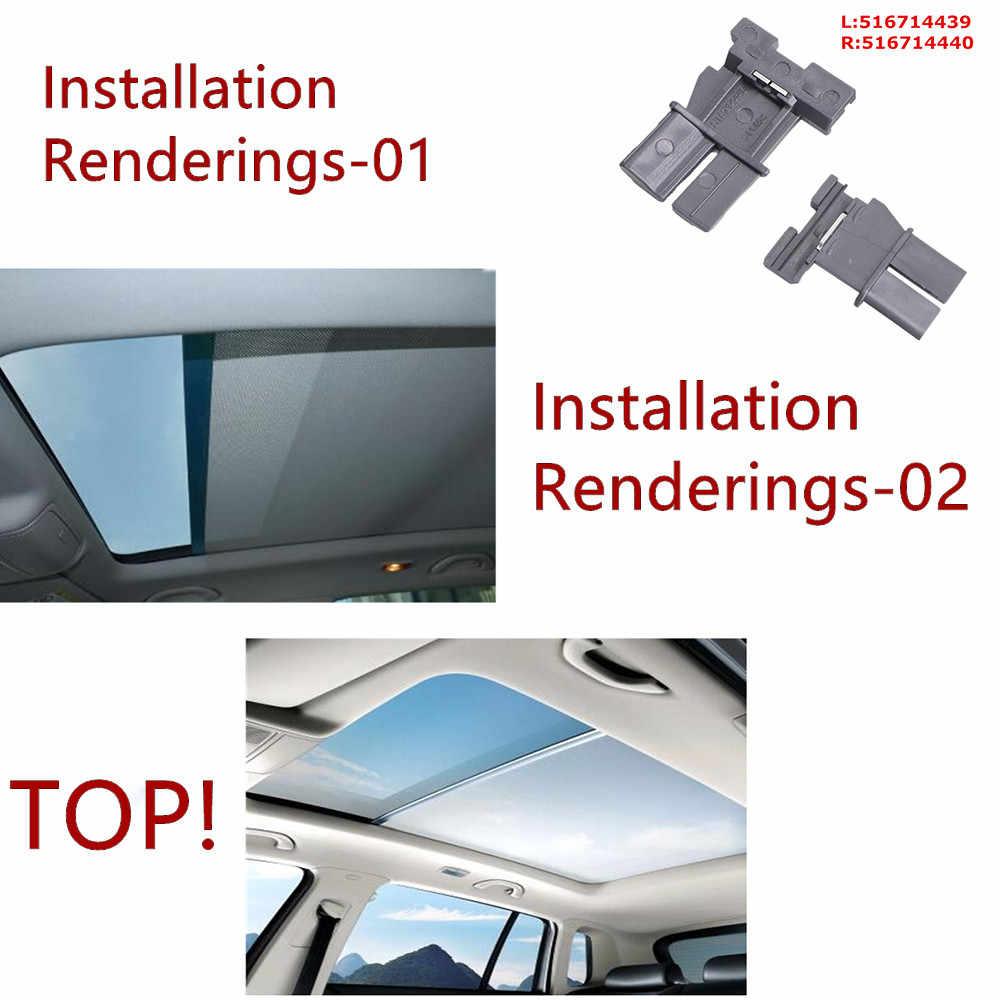 Iycorish Car Techo Solar Sombrilla Cortinas Tragaluz Obturador Modelo para Q5 Sharan Tiguan 1K9877307A 5Nd877307 Gris