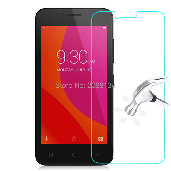 For Lenovo Vibe B A2016 Tempered Glass 9H Protective Film Front Safety Screen Protector For A Plus A1010 A1010a20 A2016A40