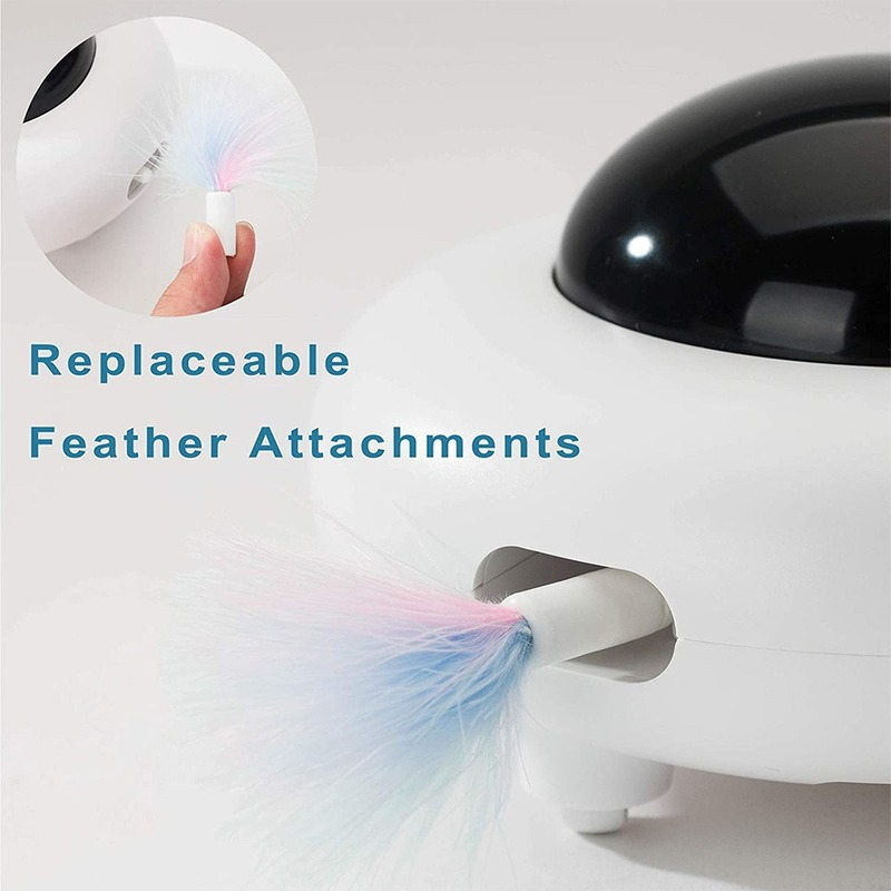 Cats New Arrivals Toys Interactive Cat Toy with Rotating Feather  My Pet World Store