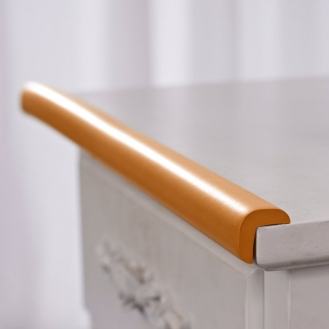 2M U-Shape Table edge Corner Protections Thick Rubber Furniture Desk Cover Protectors Foam Baby Safety Bumper Guard Strip 1